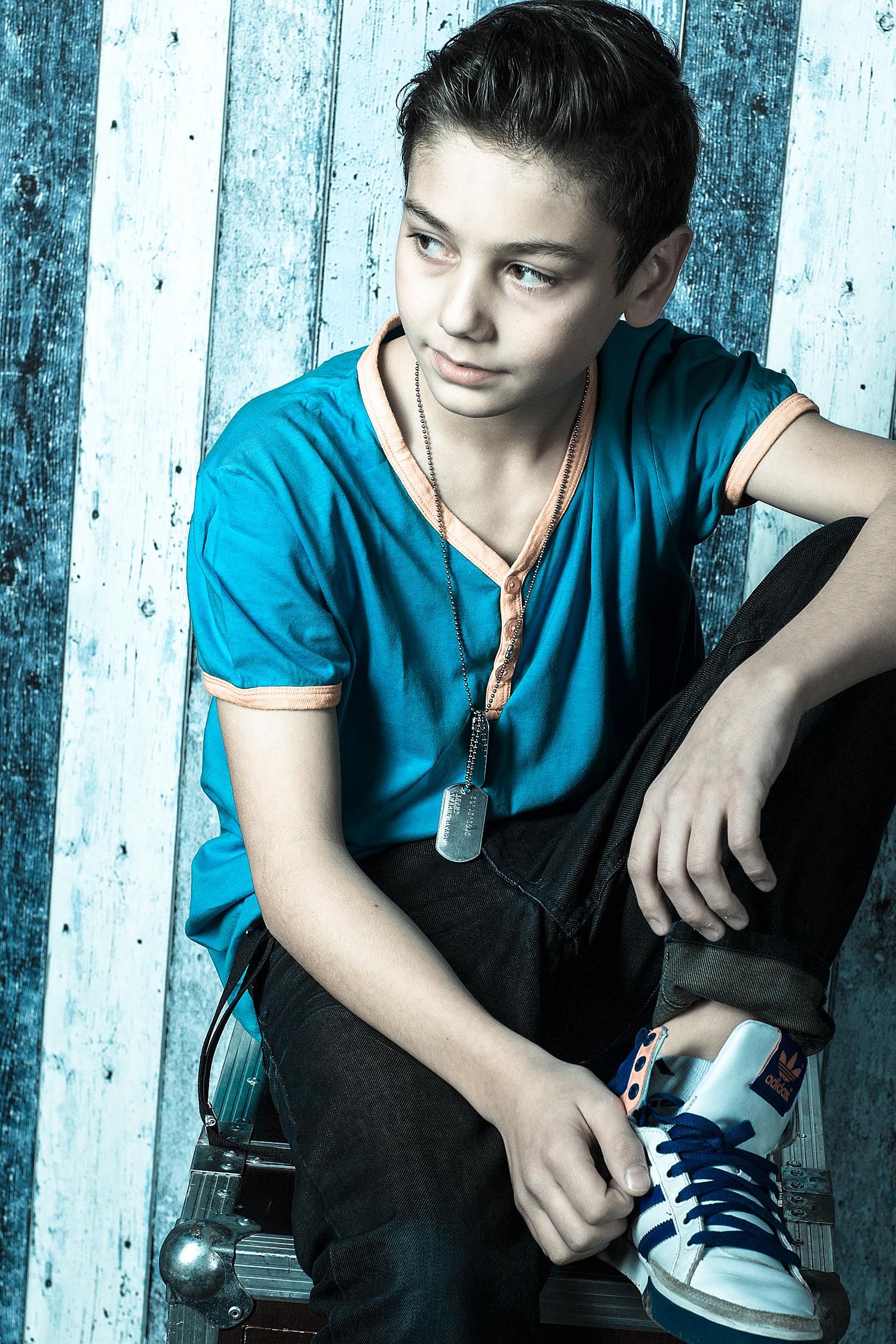 Junge 13